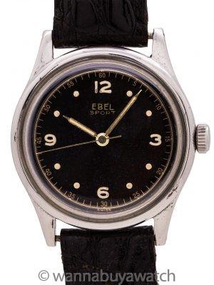 Ebel Sport Tropical Dial circa 1940's