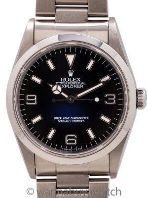 Rolex Explorer 1 ref 14270 Tritium circa 1995