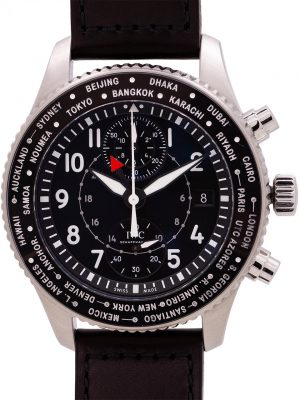 IWC Pilot's Watch Timezoner Chronograph circa 2019 w/ B&P