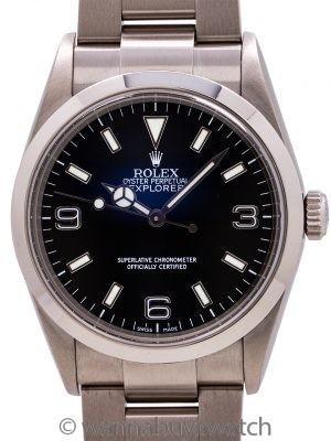 Rolex Explorer 1 ref 114270 circa 2003