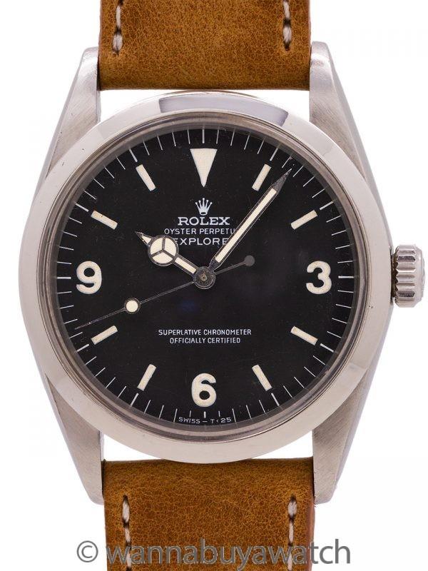Rolex Explorer ref# 1016 circa 1967