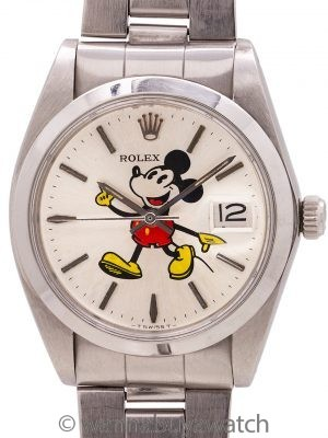 "Rolex Oyster Date Ref. 6694 ""Mickey Mouse"" circa 1982"