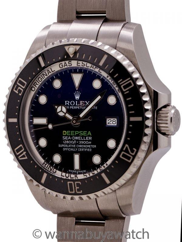 Rolex Deepsea Deep Blue James Cameron circa 2014
