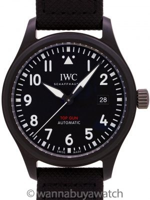 IWC Pilot's Watch Automatic TOP GUN circa 2019 B & P