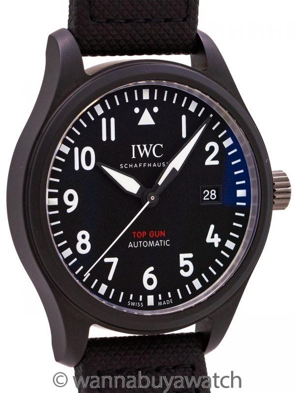 IWC Pilot's Watch Automatic TOP GUN circa 2019 B & P
