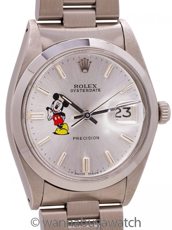 "Rolex Oyster Date Ref. 6694 ""Mickey Mouse"" circa 1974"