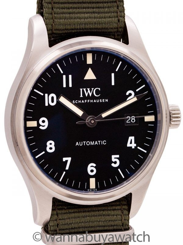 IWC Pilot's Watch Mark XVIII Tribute to Mark XI Box & Papers 2017