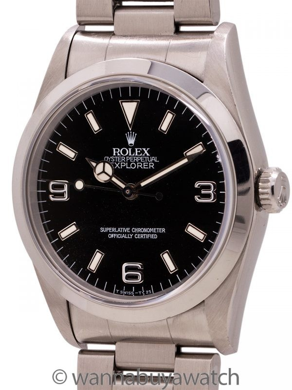 Rolex Explorer 1 ref. 14270 circa 1995