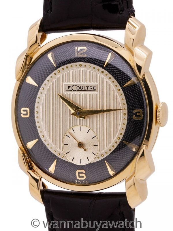 LeCoultre 18K YG Dress Model circa 1950's