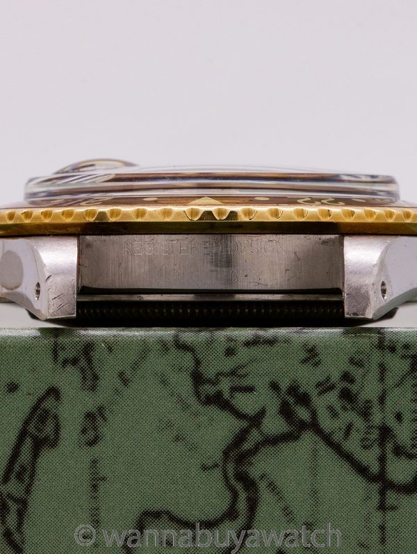 "Rolex GMT SS & 14K YG ref 1675 ""Rootbeer"" circa 1970"