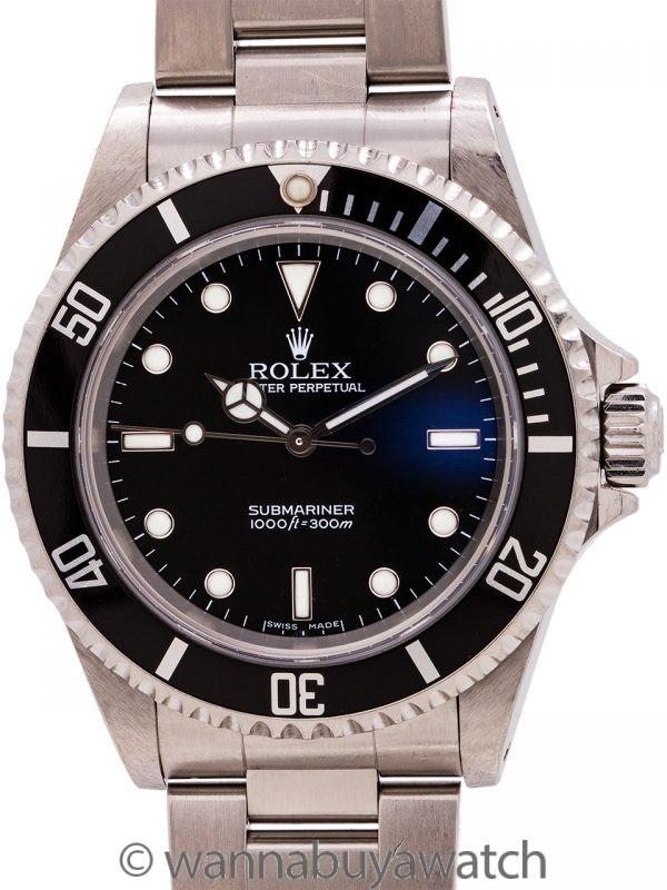 Rolex Submariner ref# 14060M circa 2006 Box & Papers