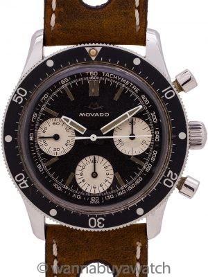 Movado Sub Sea Diver's Chronograph circa 1960's