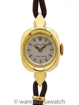 Lady Rolex Dress Watch 14K YG circa 1950's