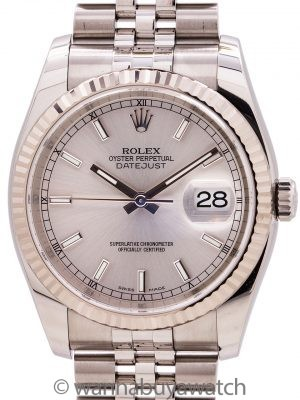Rolex Datejust ref # 116234 Stainless Steel circa 2010+