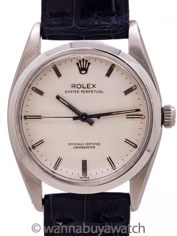 Rolex Oyster Perpetual ref 6614 Scarce 36mm circa 1958