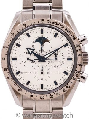 Omega SS Speedmaster Broadarrow with Moon Phase ref 3575.20