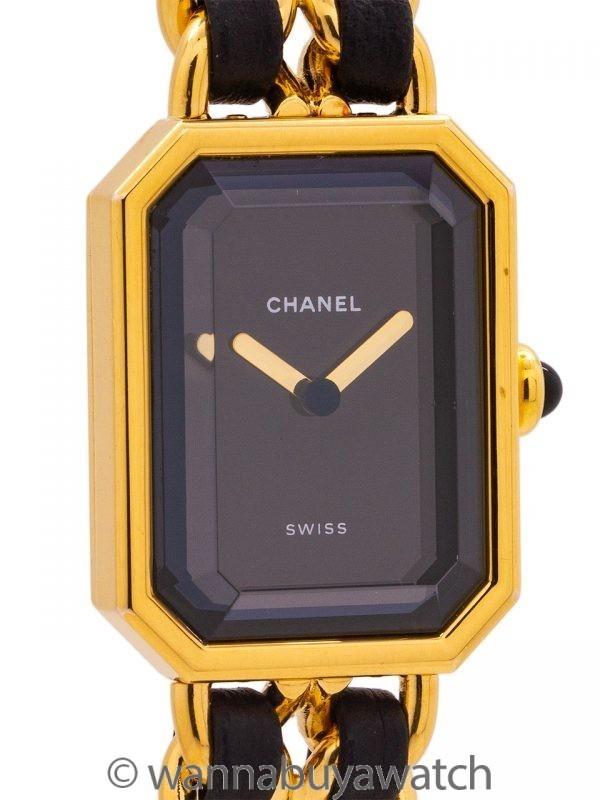 Chanel Première by Karl Lagerfeld circa 1990's Large