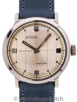 "Glycine ""Vacuum"" SS Modernist Dress Model circa 1960's"
