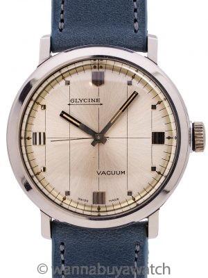 "Glycine ""Vacuum"" SS Modernist Dress Model circa 1960's"