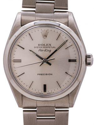 Rolex Airking ref 5500 Stainless Steel circa 1987