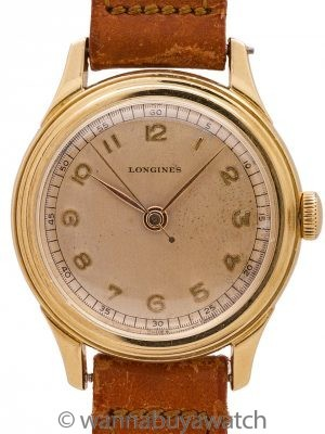 Longines 14K YG Theo H Davies Co. Hawaii Presentation 1945
