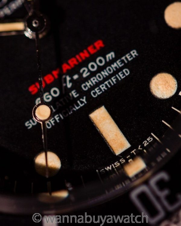 Rolex ref 1680 Red Submariner Mk IV Dial circa 1971