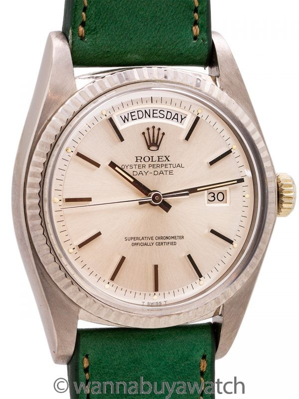 Rolex Day Date President ref 1803 18K WG circa 1973