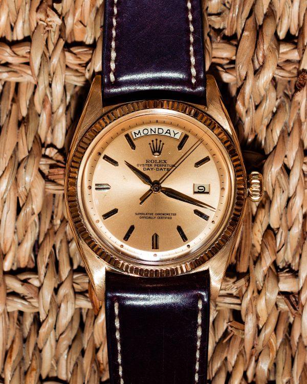 Rolex Day Date ref 1803 18K YG circa 1958