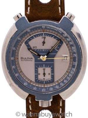 Bulova Bullhead Chronograph circa 1973