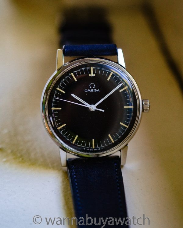 Omega ref# 135.011 Modernist Stainless Steel circa 1966