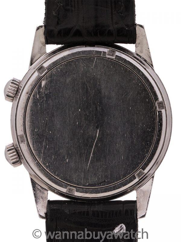 Tudor Advisor Alarm ref #10050 Rare Black Dial circa 1983