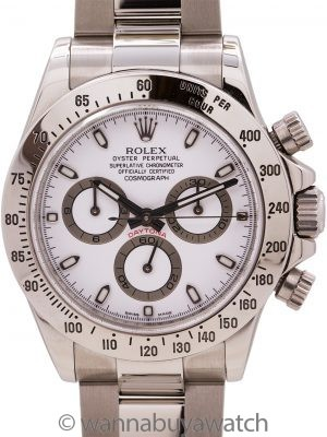 Rolex Daytona ref 116520 Stainless Steel circa 2011 Box & Card