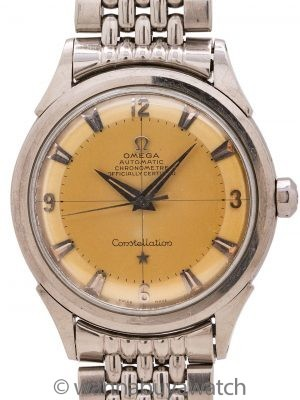 Omega Constellation ref 2652-1 Tropical Dial circa 1952