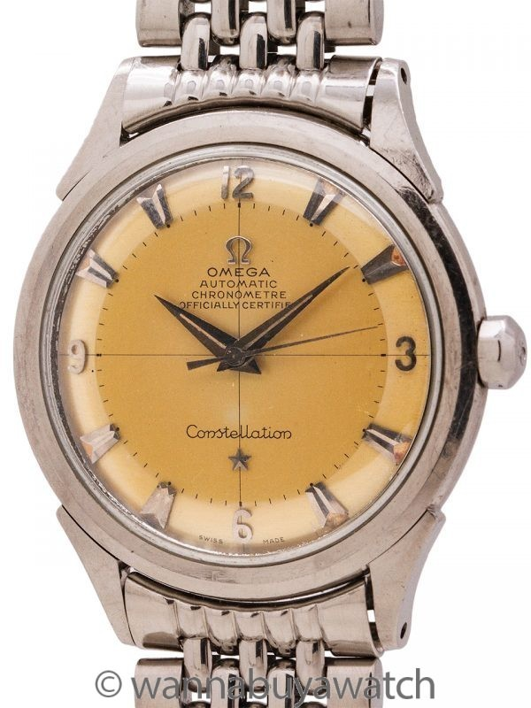 Omega Constellation ref 2652-1 Tropical Dial circa 1952