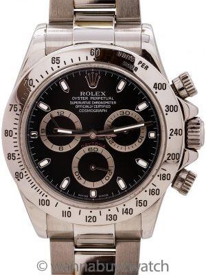 Rolex Daytona ref 116520 circa 2003