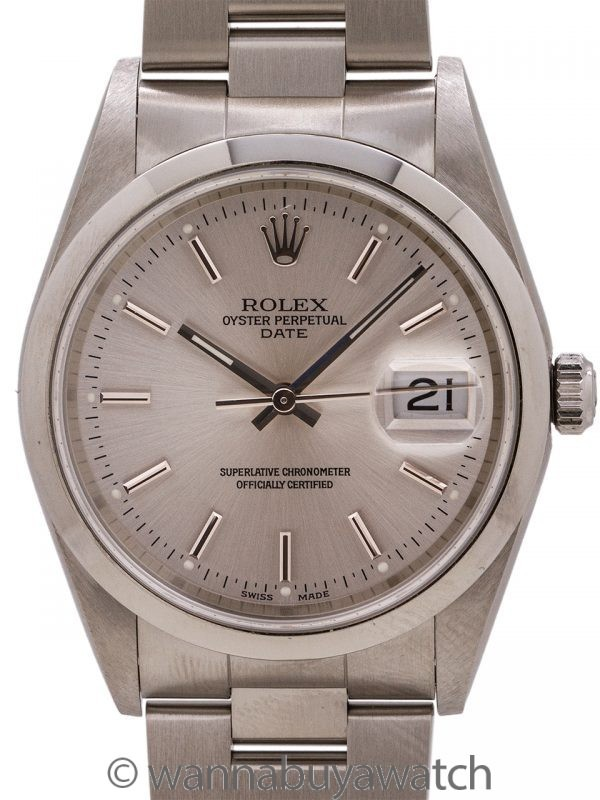 Rolex Oyster Perpetual Date ref# 15200 circa 2003