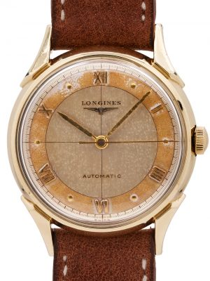 Longines Automatic YGF Tropical Dial circa 1950's