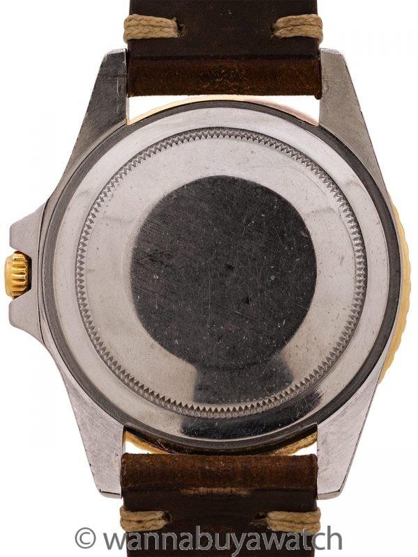 "Rolex GMT ref 1675 SS/14K  ""Chocolate"" circa 1972"