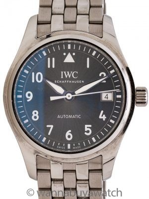 IWC Pilot Style 36mm Automatic ref 3240 circa 2000's