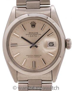 Rolex Oyster Perpetual Date ref# 1500 Original Dial circa 1968