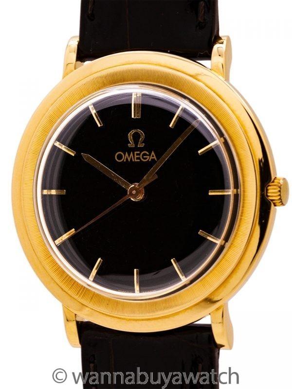 Omega 18K YG Dress Model circa 1959