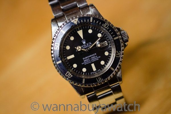 Rolex Submariner Date ref# 1680  circa 1977