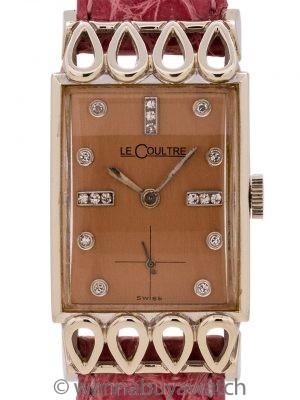 "Lecoultre 18K WG ""Lowell"" circa 1956"