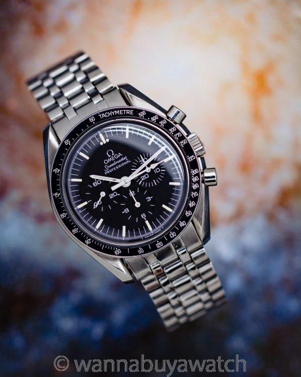 Omega Speedmaster Man on the Moon ref 145.022 circa 1986