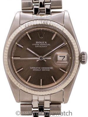 Rolex Datejust ref 1601 SS/14K WG Sigma Dial circa 1977