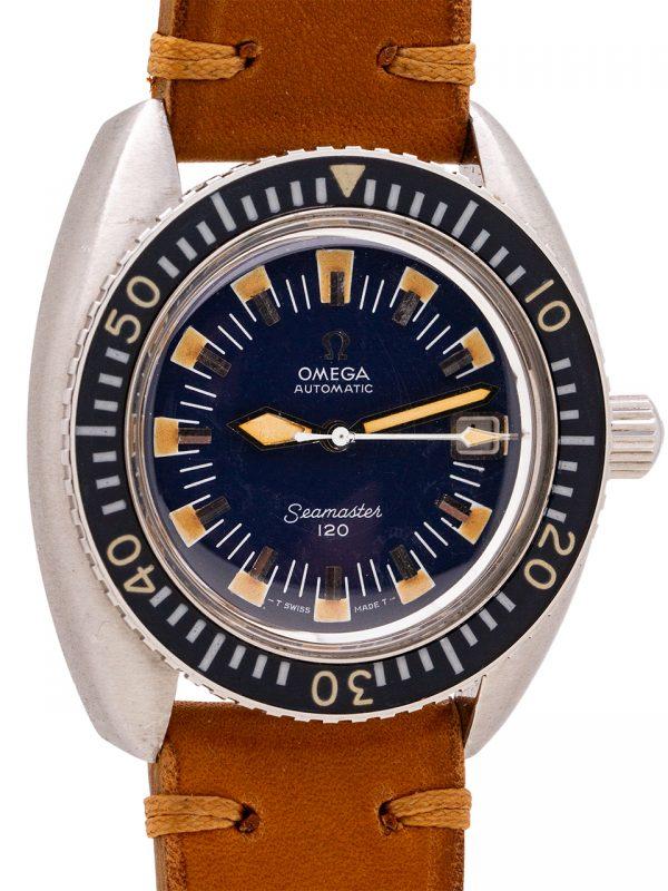 Omega Seamaster 120 Deep Blue Diver's ref 166.073 circa 1968