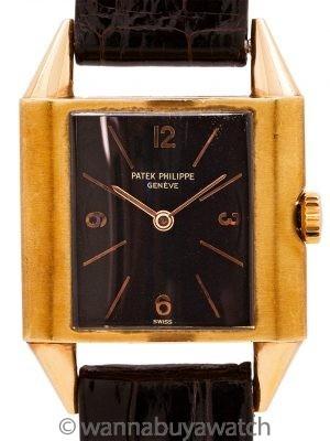 Patek Philippe ref 560 18K PG circa 1938 Archive
