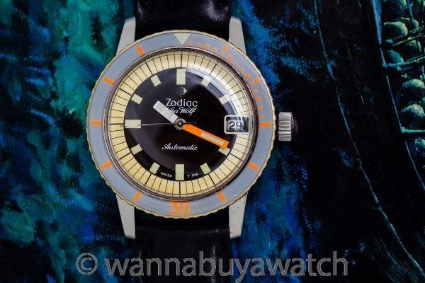 Zodiac Seawolf Automatic circa 1960's