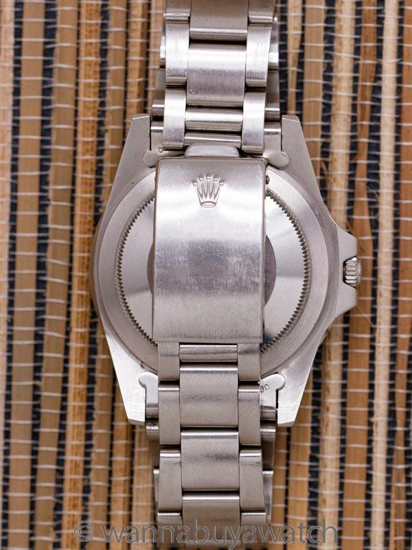 "Rolex GMT Stainless Steel ref 16750 Matte ""Pumpkin"" Dial circa 1981"
