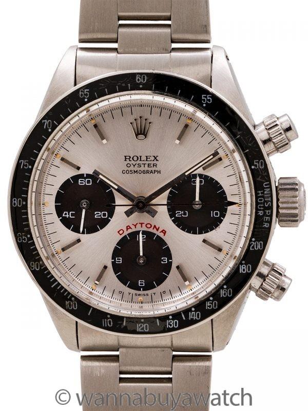 "Rolex Daytona ref 6263 Sigma Dial ""Color Change Purple Registers"" circa 1975"